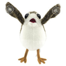 Cute Porg Bird Plush Peluches Toy Car Sucker Funny Porglet Story Elf on The