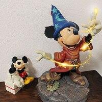1 шт./лот 15 см ПВХ Волшебная Микки карбоновая утка, мышь кукла бонсай игрушки просмотр фигурок игровой дом Рождественский подарок