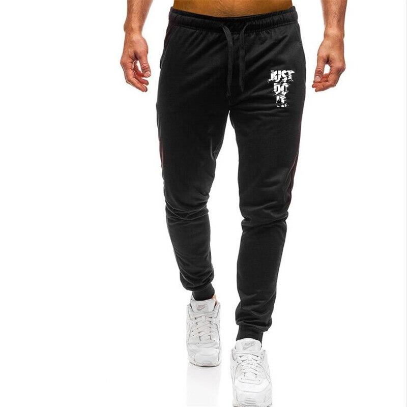 Men Sweatpants Pantalon Logo Trousers Clothing Joggers Bodybuilding-Pants Print Sporting