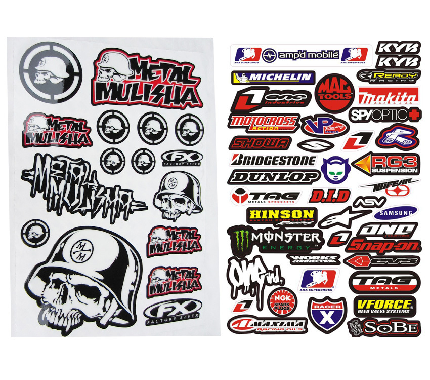 Metal Per Stickers Kamos Sticker - Bike graphics stickers imagesstickers on bike sticker creations
