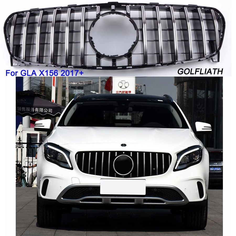 GTR Style Front Grille For NEW GLA X156 Class GLA200
