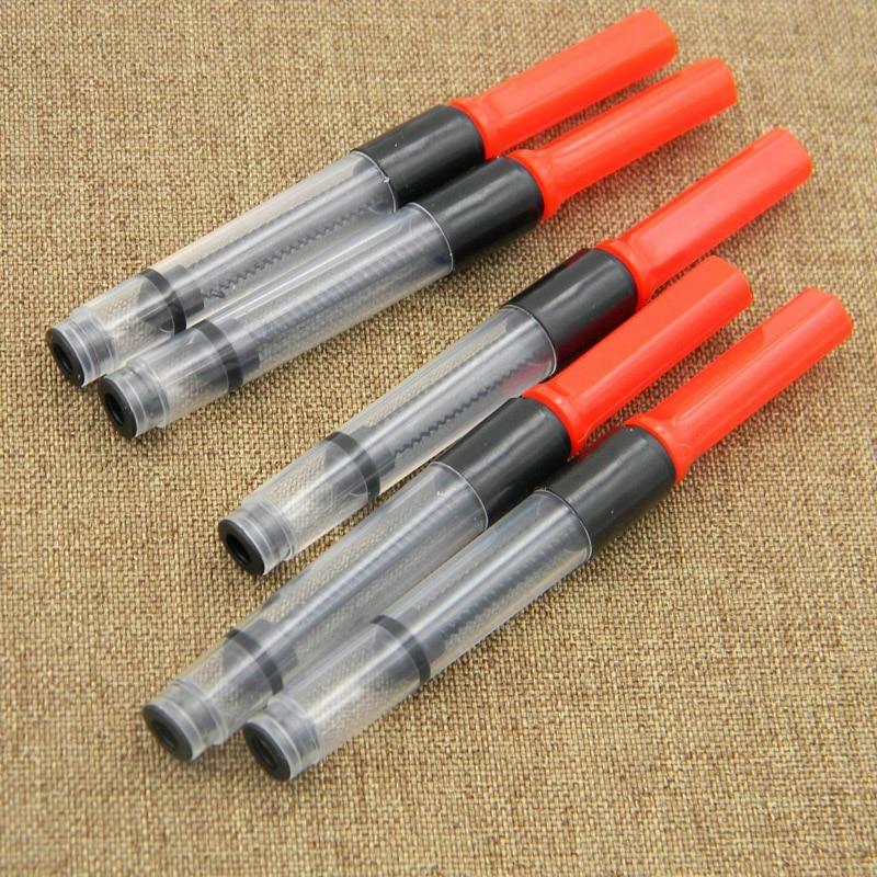 5Pcs 3.4mm Meet International Standards Plastic Pump Cartridges Fountain Pen Converter