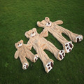 340 см Огромный Медведь Кожи Пустые Мягкие Игрушки Большие Медведи Плюшевые Игрушки Плюшевые Подарки Любителей