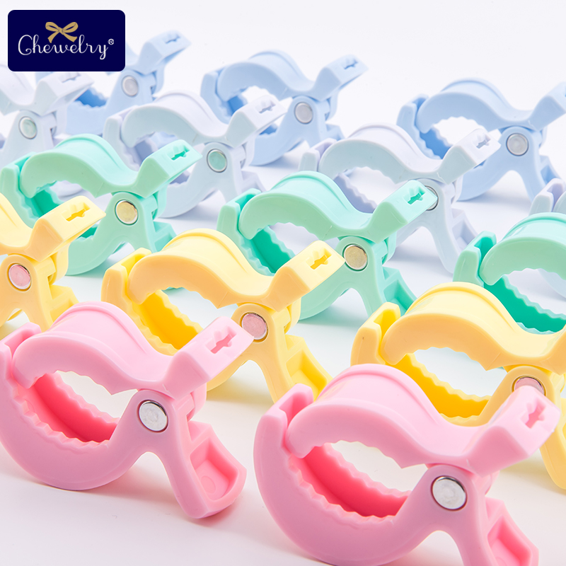 6pc Baby Baby Blanket Clip For Play Gym Baby Car Seat Accessories Lamp Pram Stroller Peg Teether Toy Hook Cover Children'S Goods | Happy Baby Mama