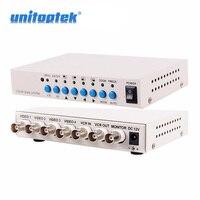 4 Channel CH Video Quad Camera Processor Switcher 4CH Color Video QUAD Processor