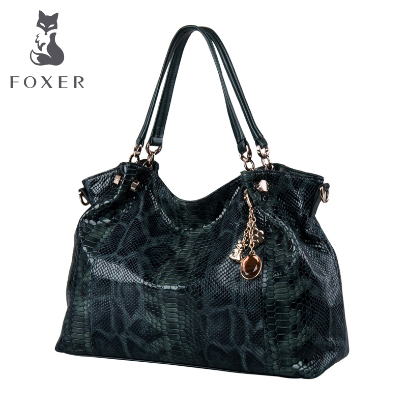 FOXER Classic European And American Designer Bag Bolsos Mujer De Shoulder Handbags