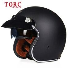 Бесплатная доставка мотоциклетный шлем половина шлем TORC натуральная обувь для мужчин и женщин Модные Ретро шлем международную сертификацию в горошек