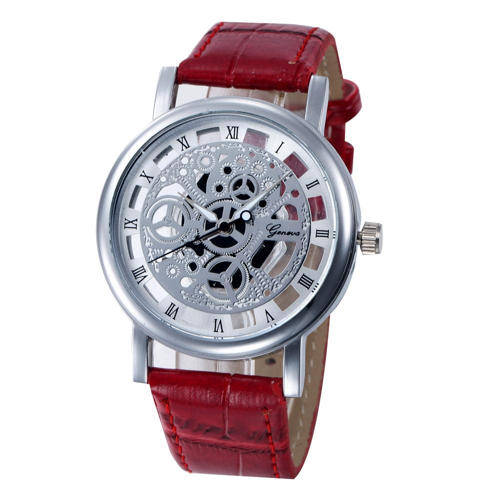 e63e58b714c 2017 Fashion Casual Mens Watches Faux Leather Business Analog Quartz-Watch  Men Wristwatch Relogio Masculino Mens Watches  22