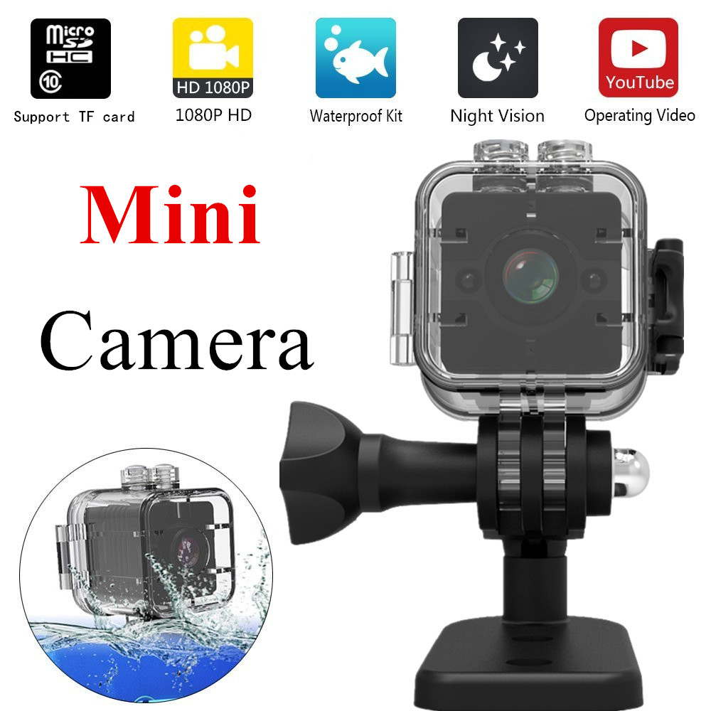 SQ12 Mini Kamera Wasserdicht grad weitwinkel objektiv HD 1080 p Weitwinkel MINI Camcorder DVR SQ12 Mini Sport video kamera