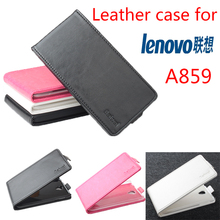 High Quality New Original For Lenovo A859 Leather Case Flip Cover for Lenovo A 859 Case Phone Cover In Stock