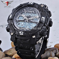 Brand EPOZZ Men Swim Black Blue Sport Digital Waterproof Shockproof Watch 2801