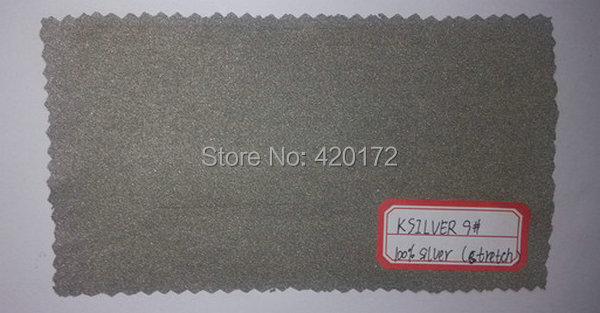 Lower Price 100 Silver Fabric Silver Fabric Coated Conductive Silver Fabric