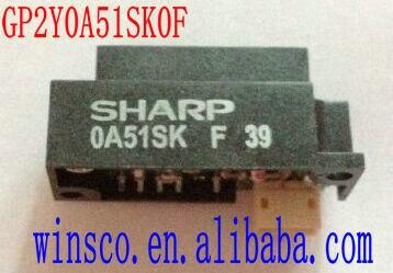 Gp2y0a51sk0f 100% neue sharp 0a51sk 2 ~ 15 cm infrarot