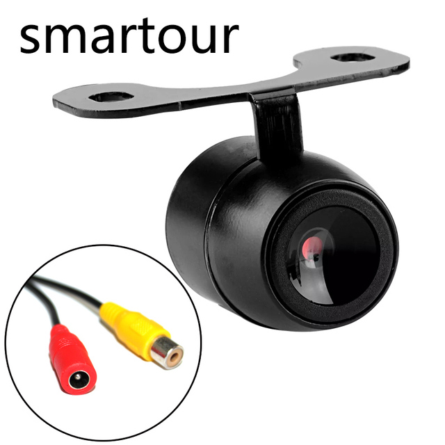 Smartour Car reversing camera butterfly plug-in backup parking rear view reversing image night vision waterproof HD