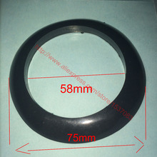 58mm inner diameter silicone rubber seal dust ring for solar water heater vacuum tube free freight все цены