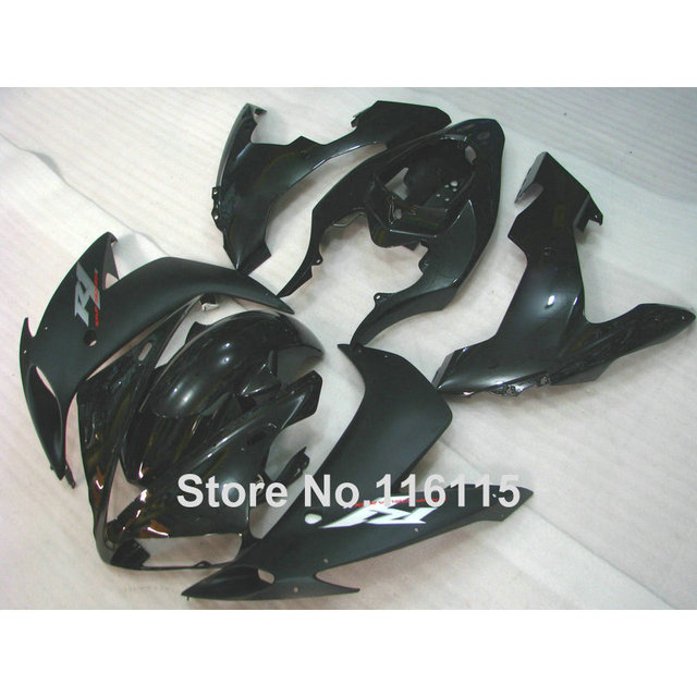 US $427 5 5% OFF  ABS motorcycle parts for YAMAHA YZF R1 2004 2005 2006 all  black fairing kit R1 04 05 06 fairings set CY42 Full injecti-in Covers &