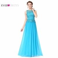 O Neck Sleeveless Prom Dresses Ever Pretty HE08904 A Line Plus Size Prom Dress Women S