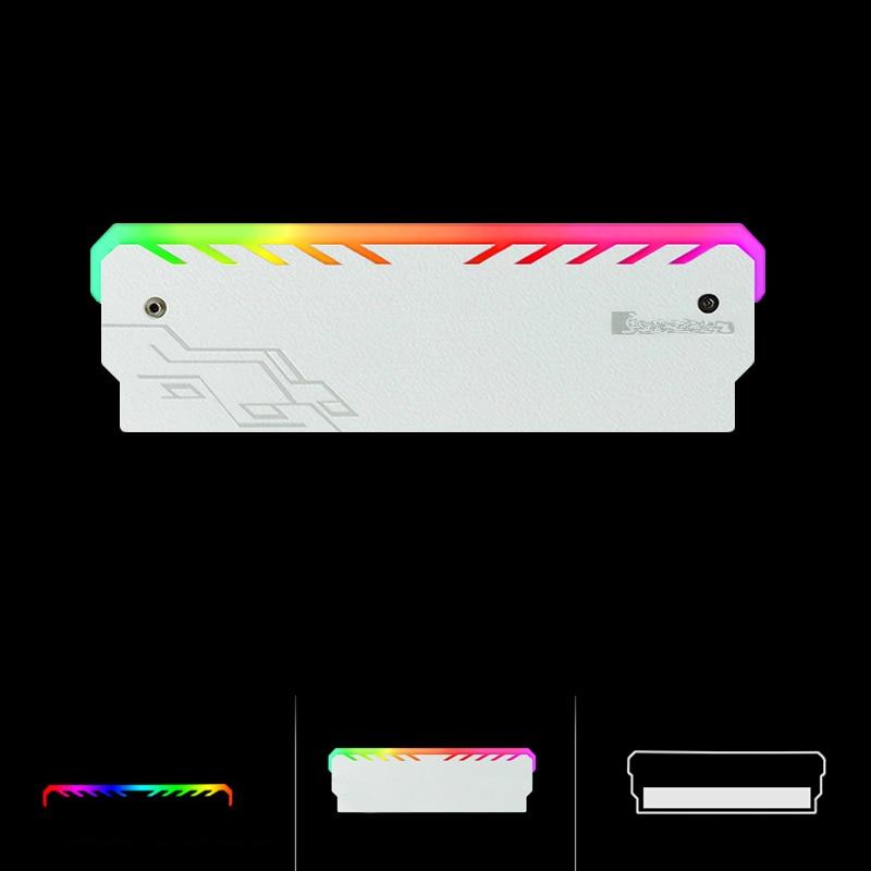 Nouvel Ordinateur Pour JON Smart RGB LED Béliers Shell De Refroidissement Lumineux Gilet Générale Commune Lumière Bar DDR/DDR2/DDR3/DDR4 Mémoire Radiateur