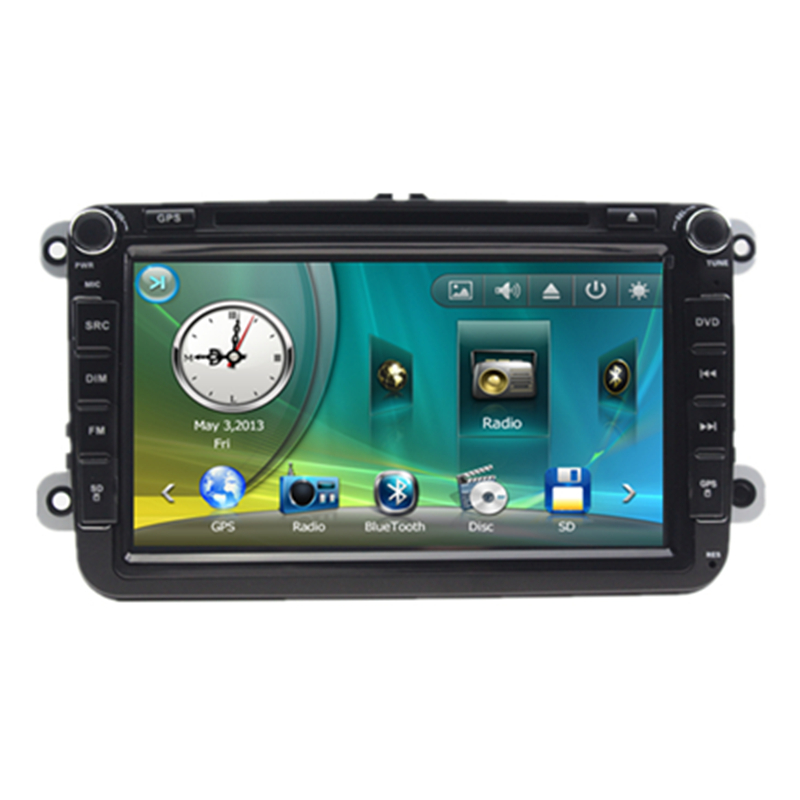 8 car stereo audio autoradio head unit headunit for vw. Black Bedroom Furniture Sets. Home Design Ideas