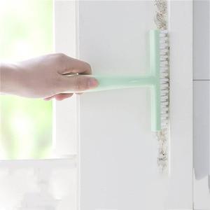 Image 2 - 1 Pcs Kunststoff Moskito Bildschirm Reinigung Pinsel Fenster Unsichtbar Bildschirm Fenster Abstauben Pinsel Fenster Nut Reiniger Werkzeug