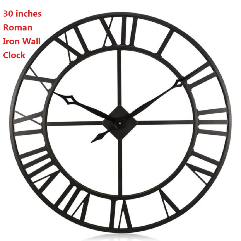 30 Inch Home Decoration Watches European Oversized Wrought