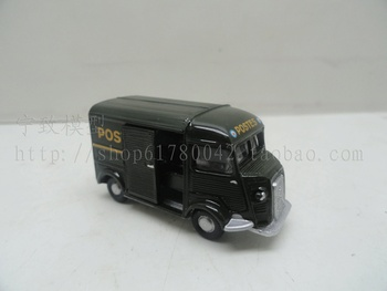 Special wholesale 1:87 scale Simulation mini alloy car,Simulation POSTES,Collection toy model,free shipping image