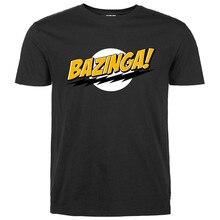 2016 Fashion streetwear Big Bang Theory t shirt Bazinga streetwear Mens T Shirts Tops Tees pp crossfit brand clothing