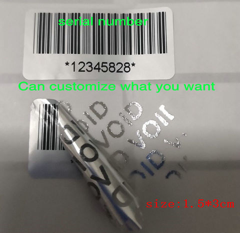 500 etiquetas da protecao garantia 30mm