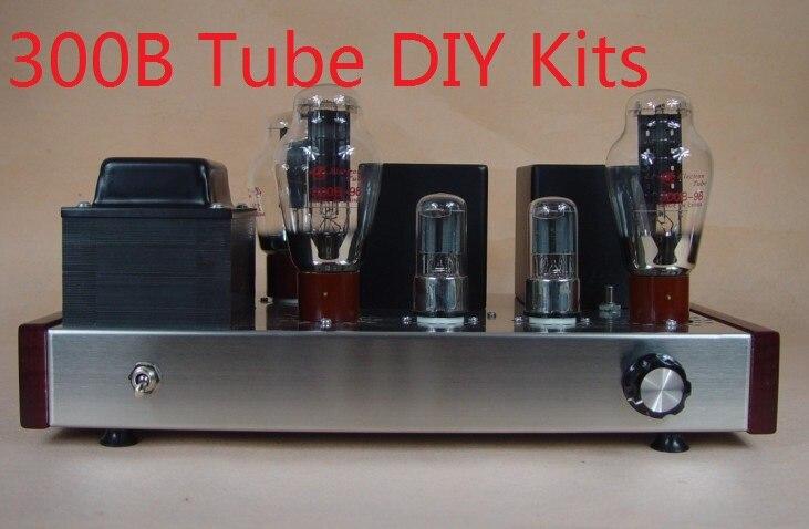 2017 Nobsound limite berserk son chaud 300B directement chauffée amplificateur à tubes amplificateur de puissance bricolage Kits 7 W + 7 W