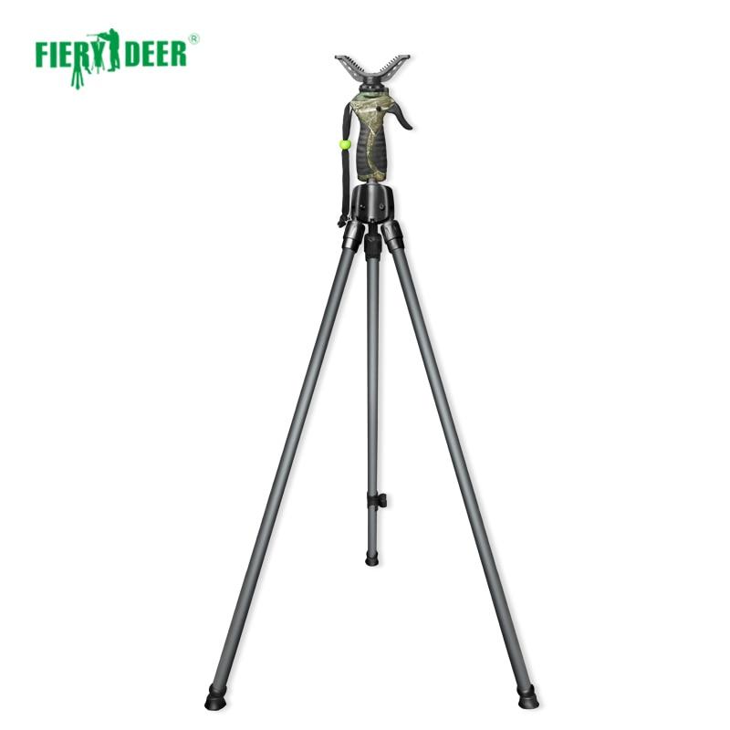 NEW FieryDeer DX-004Gen4 155cm Trigger Twopod Camera Scopes Binoculars Hunting Stick Shooting Sticks