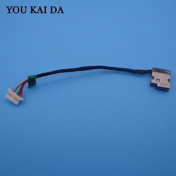 Conector de Cable de alimentación DC, conector de puerto de carga para HP 15-AF 15-AC 15-AE 250 255 G4 799736-Y57 799736-S57, CABLE de carga DC Jack