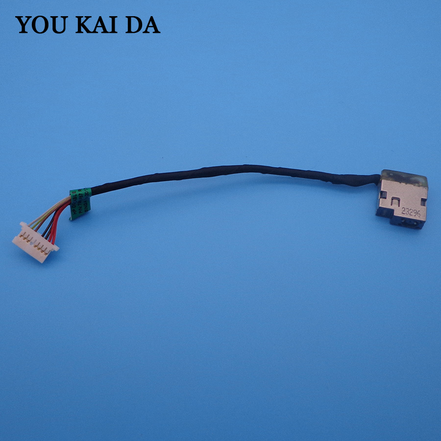DC Power Jack Cable Connector Charge Port Plug FOR HP 15-AF 15-AC 15-AE 250 255 G4 799736-Y57 799736-S57 CHARGING CABLE DC Jack