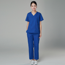 cotton nurse uniform for women  medical scrub suit designs dental Hospital Set Work Wear Nursing Scrubs