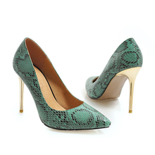 YANSHENGXIN Stiletto Shoes Woman Pumps Ladies Scarpin Women High Heels Pointed Toe Metal Heel Sexy Serpentine Party Shoes цены онлайн