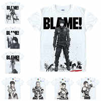 Coolprint Motivs hentai chemise blâmer T-Shirts multi-style manches courtes Killy, Cibo Anime Cosplay chemises Kawaii
