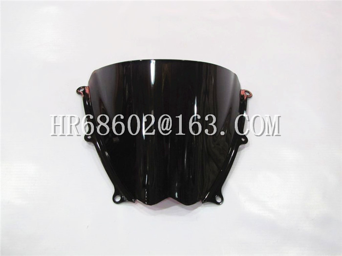 Freeshipping For Suzuki GSXR 1000 R K7 2007 2008 gsxr 1000 r k7 07 08 Black Windshield WindScreen Double Bubble GSXR1000 R for suzuki gsxr 1000 gsx r 1000 gsxr1000 k7 2007 2008 07 08 motorcycle headlight front head lights lamp headlamp clear lens