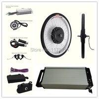 Free Shipping 48v10ah Li Ion Battery With 48v1000w Electric Bike Conversion Kit