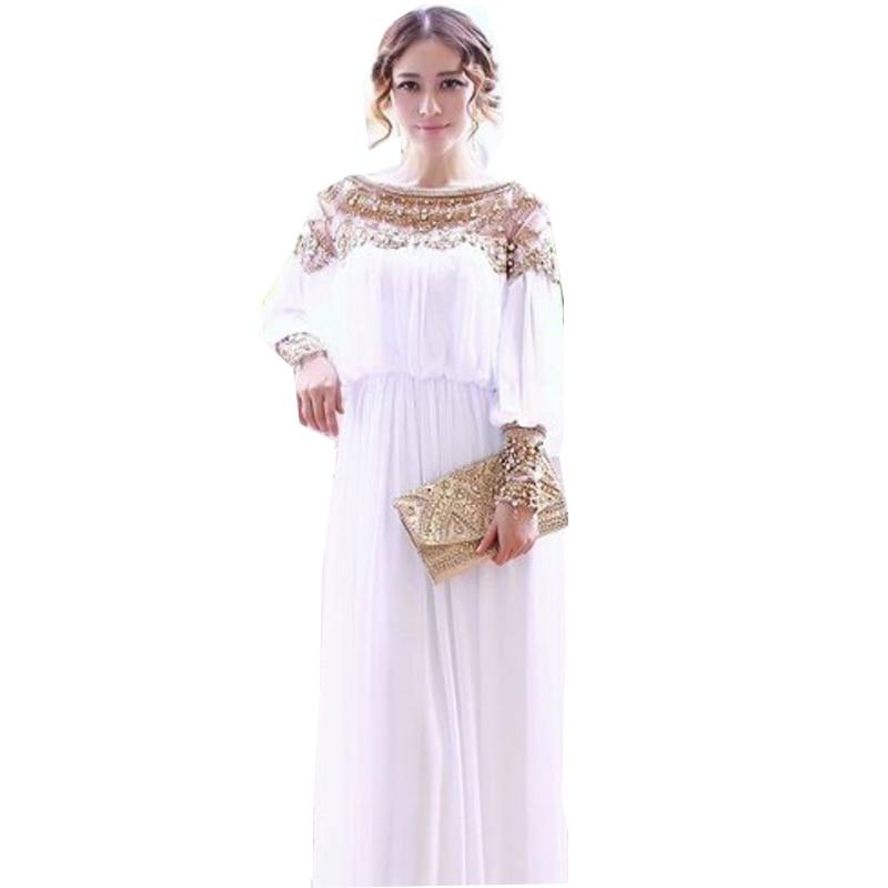 2018 women fashion elegant Self Portrait dress vestidos formal korean runway white party maxi spring autumn dresses long sleeve