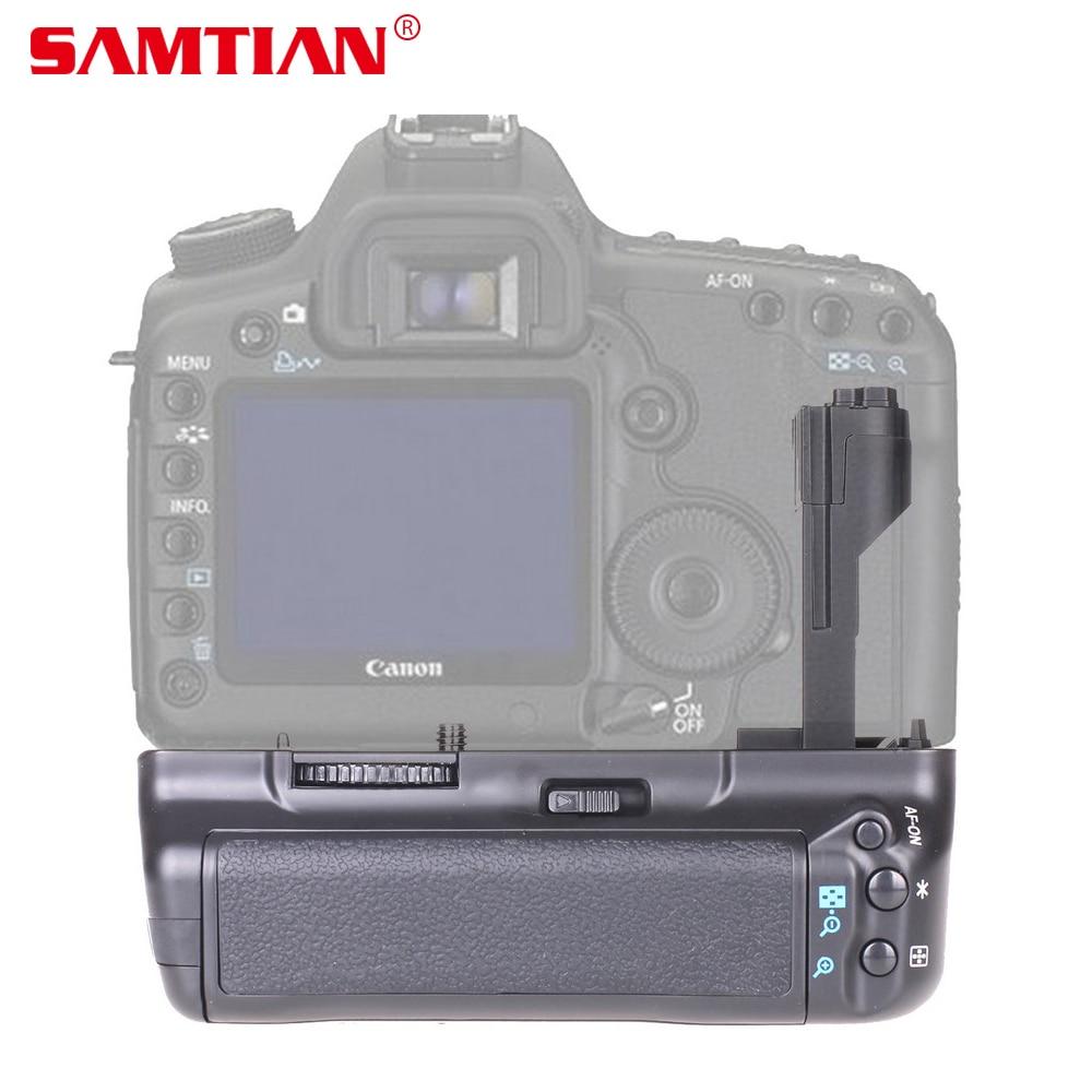 SAMTIAN Vertical Battery Grip Holder for Canon EOS 5D Mark II 5D2 5DII DSLR Camera Work with LP-E6 Battery