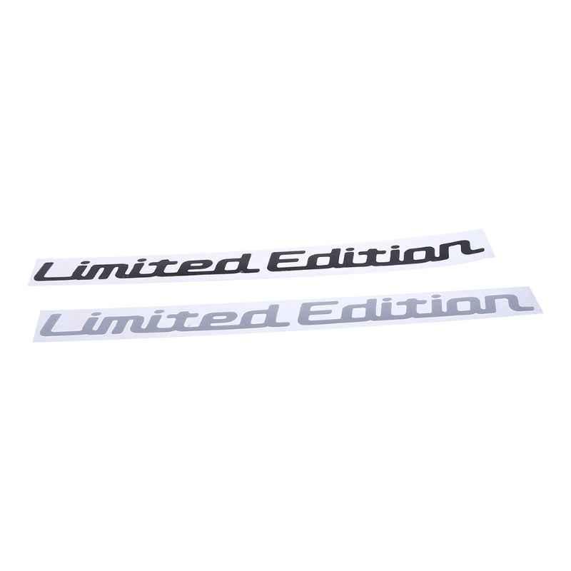 Etiqueta engomada de la ventana del coche del vinilo creativo de la edición limitada de 25 CM * 2 CM