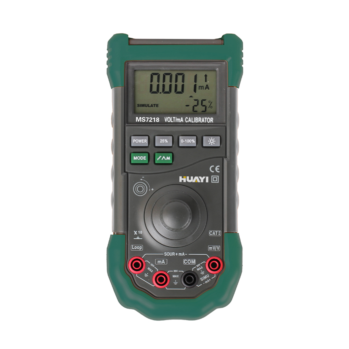 Volt Ma Calibrator Meter Digital Portable Large Display High Accuracy 0.02% Ms7218 Let Our Commodities Go To The World