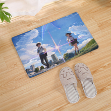 Cartoon Japanese Anime Your Name Kitchen Carpet Living Room Hallway Bathroom Entrance Decorative Door Mat Non-slip