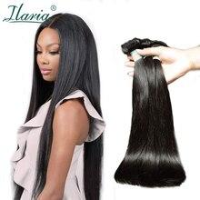 Бразильские пучки для плетения волос прямые человеческие волосы пучки 3 шт./партия натуральный цвет Remy человеческие волосы для наращивания