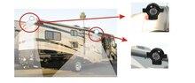 Цвет CCD Автомобиль сбоку Камера резервного копирования Камера для грузовик RV Прицепы/Караван ИК Цвет Реверсивный Камера SONY CCD