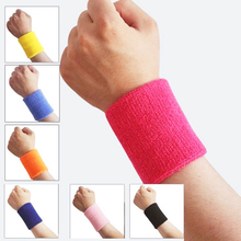 Sport Wristband sweatband Brace Wrap Bandage Gym Strap Running Sports Safety Wrist Support Badminton Wrist Band 1 Piece