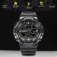 SANDA Brand Men's Fashion Sports   Watch   LED Display Waterproof Men   Digital     Watches   Man Military Outdoor Clock Relogio Masculino