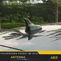 For Volkswagen Passat B8 2018 Car Styling Car Shark Fin Antenna Auto Radio Signal Aerials Roof Antennas