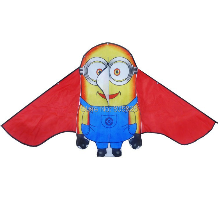 Free-shipping-new-design-lovely-Minions-kite-3pcslot-child-kite-flying-toy-nylon-ripstop-with-handle-and-line-high-quality-1