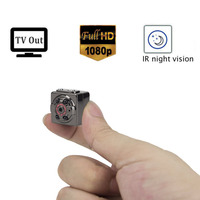Night Vision 1080P Mini HD Camera Infrared Gizli Kamera DVR Motion Detection Video Camcorder Pinhole Digital