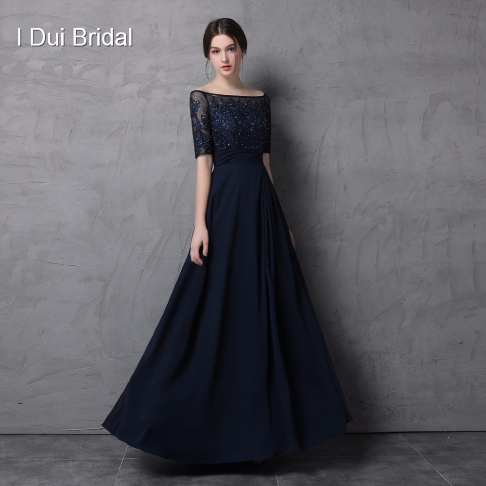 Half Sleeve Mother Of The Bride Dresses Off The Shoulder Lace Appliqued Chiffon A Line Wedding Guest Formal Wear Mother Of Bride Mother Of Bride Dressmother Of The Bride Aliexpress,Wedding Long Purple Bridesmaid Dresses